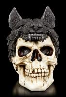 Totenkopf mit Wolfspelz - Sharman