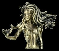 Medusa Figurine - Standing with Bow