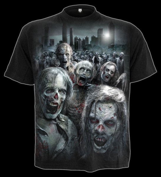 T-Shirt - The Walking Dead - Zombie Horde