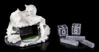 Wolf Figurine as Calendar - Mother's Watch