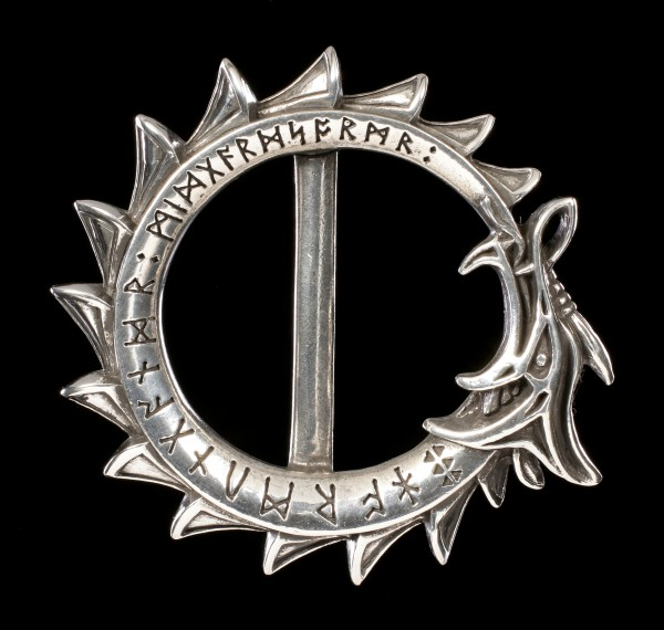 Alchemy Gothic Belt Buckle - Jormungand