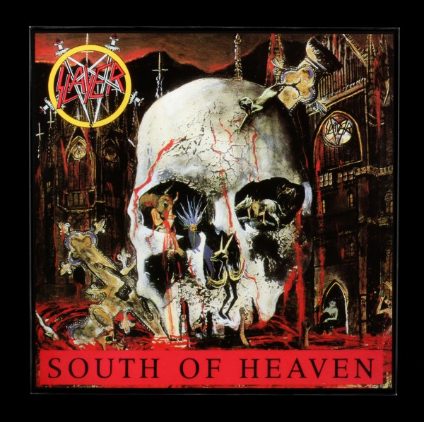 Slayer Hochglanz Bild - South of Heaven