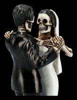 Skelett Figur - Brautpaar Love Never Dies - First Dance