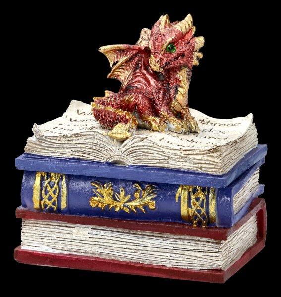 Drachen Schatulle - Dragonling Diaries - rot