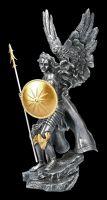 Archangel Figurine - Raphael - silver gold