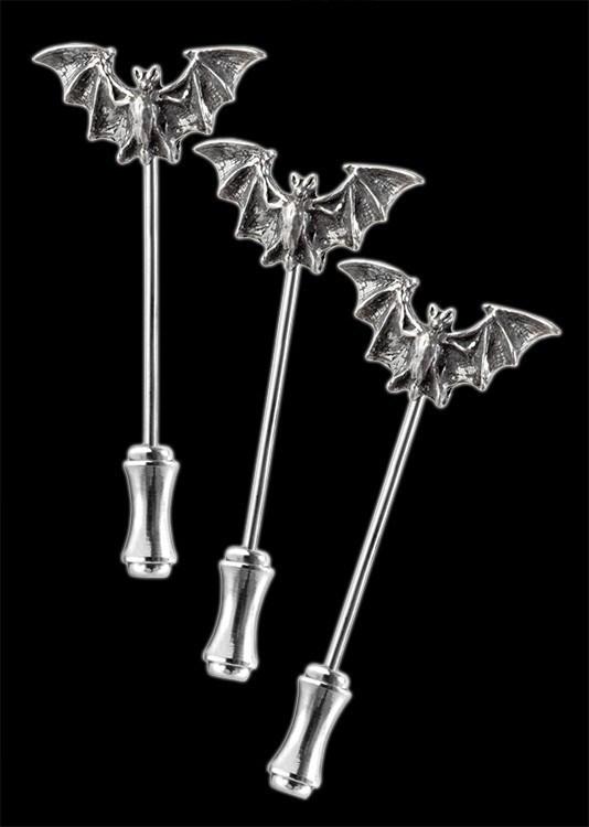 Alchemy Fledermaus Gewandnadeln - Bat