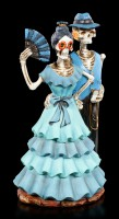 Skelett Figur - Wild West Blau