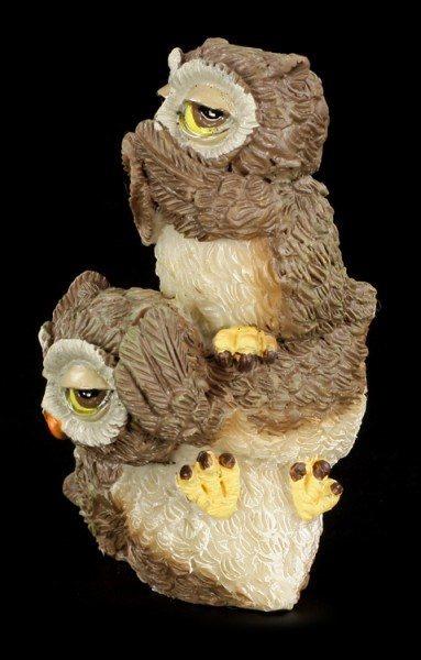 Owl Figurines - No Evil Totem