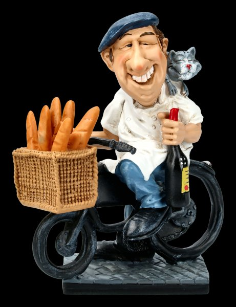 Funny Life Figurine - After Work in France