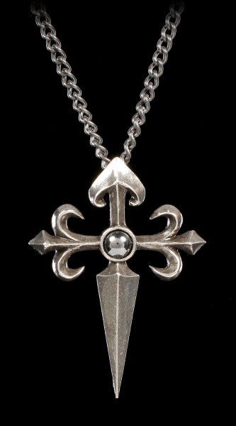 Alchemy Gothic Necklace - Santiago Cross