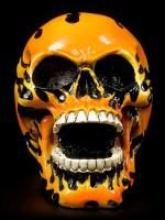 Totenkopf - Flammenschädel
