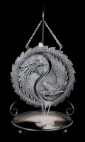 Backflow Incense Cone Holder - Dragon Yin Yang