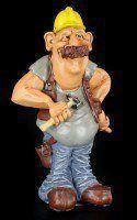 Bauarbeiter - Funny Job Figur