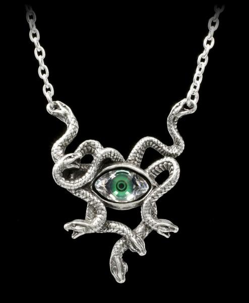 Alchemy Medusa Necklace - Gorgon's Eye