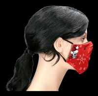 Face Covering Christmas - Red Creepmas Mask