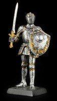 Kleine Ritter Figur mit Schwert & Schild