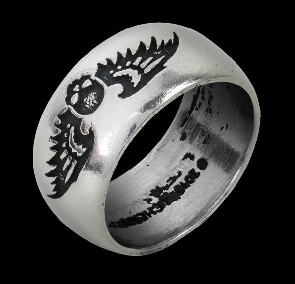 Alchemy Totenkopf Ring - Desolation