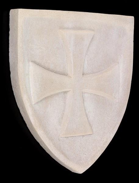 Templer Wappen - Wandrelief