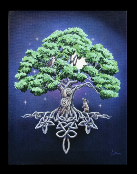 Small Canvas - Tree of Life by Lisa Parker