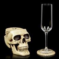 Skull Coaster Set