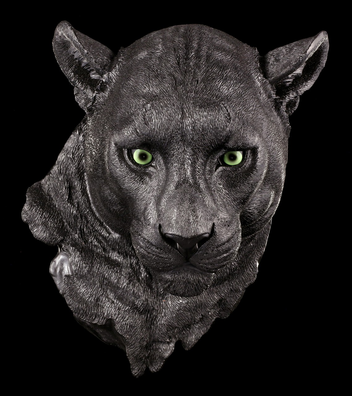 Panther Head Wall Plaque - Mesmerize