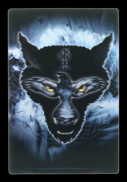 3D Postcard - Ravenwulf