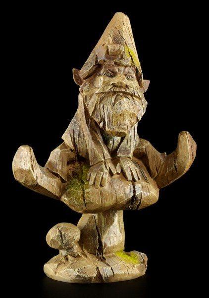 Zwergen Figur - Gilfred in Holzoptik