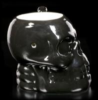 Totenkopf Tasse mit Pfeife - Skull Muggery