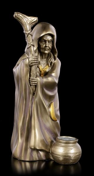 Keltische Göttin Figur Crone - Altes Weib