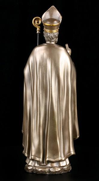 Nikolaus von Myra Figur - bronziert