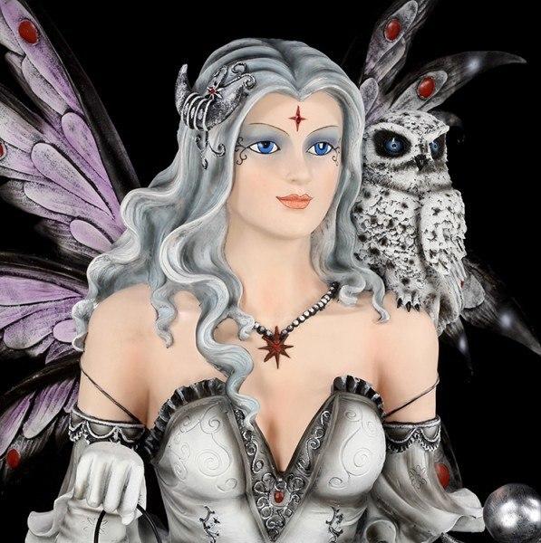 Gigantic Witch Fairy with Cat - Black Magica