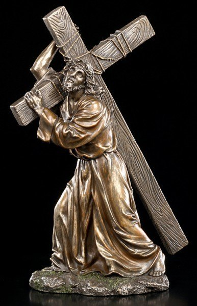 Preview: Jesus Christ Figurine - Carry Cross