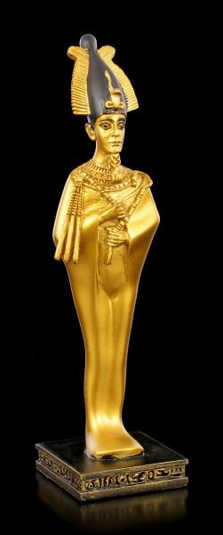 Ägyptische Figur - Osiris in goldfarben