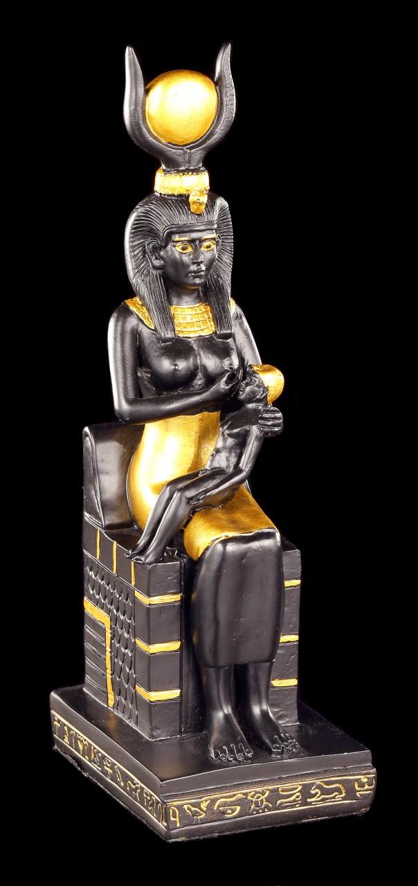 Isis Figurine with Horus Child