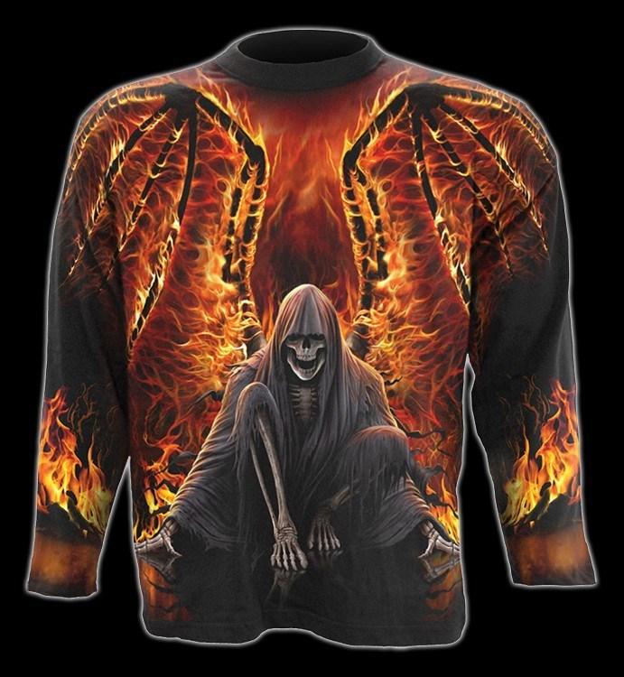 Flaming Death - Longsleeve