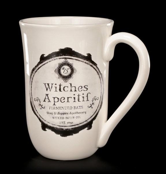 Large Ceramic Mug 600 ml - Witches Aperitif