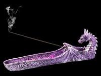 Räucherstäbchenhalter Drache - Purple Dragon