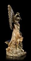 Kleine Erzengel Michael Figur - bronziert