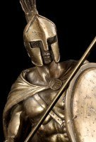 Leonidas I. Figurine with Spear and Shield