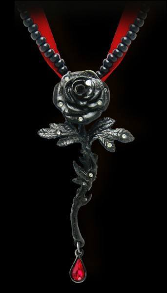 Rose of Passion - Alchemy Gothic Pendant