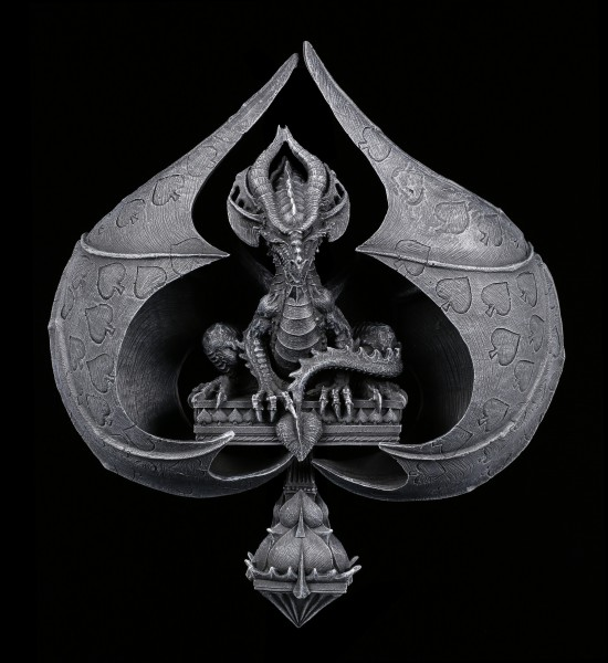 Wall Plaque - Dragon of Spades by Stanley Morrison