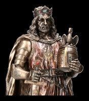 King Arthur Figurine colored