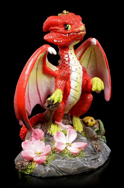 Apple Dragon Figurine by Stanley Morrison