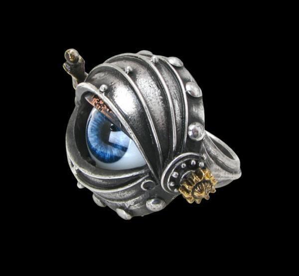 Alchemy Steampunk Ring - Automaton's Eye