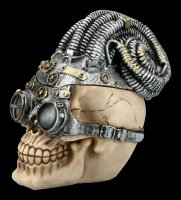 Skull Box - Steampunk Rasta