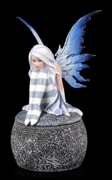 Elfen Figur auf Kugel Schatulle - Ariana's Wunsch