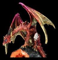 Backflow Incence Cone Holder Dragon - Crystal Glow