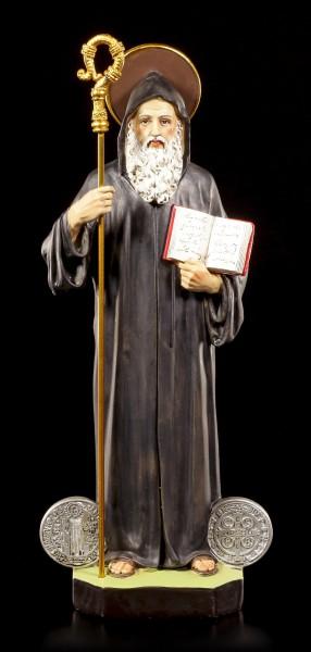 St. Benedikt von Nursia Figur