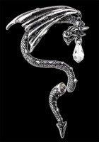Alchemy Drachen Ohrring - Crystal Dragon - rechts