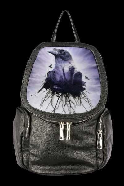 Alchemy Gothic 3D Backpack with Raven - The Seer